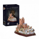 3D Puzzle Game of Thrones Rote Festung
