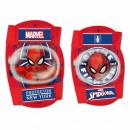 Großhandel Fahrräder & Zubehör: Spiderman FAHRRADSTIEFEL - KNIE UND SCHULTER -