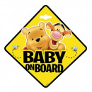Winnie the Pooh BABY ON BOARD KUBUS
