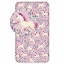 Photoprints Sweet home Unicorn Flowers sheets