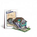 3D puzzle világházak - Franciaország virágbolt