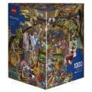 1000 pieces puzzle - Attic fun