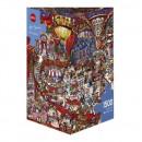 1500 darabos puzzle - Cukrászda
