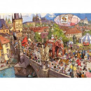 Puzzle 2000 pieces Crazy parade