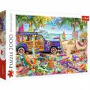 Puzzle 2000 pieces Tropical vacation