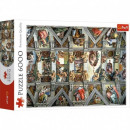 Puzzle 6000 pezzi Vault of the Sistine Chapel