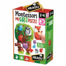HEADU Montessori puzzel My First La Puzzle