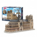 wholesale Shipping Material & Accessories: 3D Puzzle Notre Dame Cathedral 293 elements