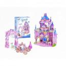 nagyker Licenc termékek: Kirakós játék DisneyPrincess 3D puzzle hercegnő ti