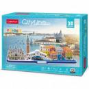 groothandel Speelgoed: 3D City Line Venice Puzzle