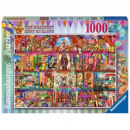 Puzzle of 1000 pieces. Wonders on Earth