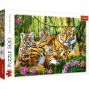 500 pieces puzzle - The Tiger Family