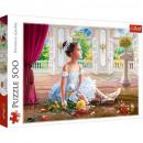 500 pieces puzzle - Little Ballerina
