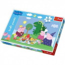 wholesale Toys: Peppa Puzzle Puzzle 24 pieces MAXI, Peppa Feast