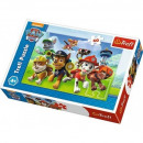 60 pieces puzzle - Paw Patrol, Ready for action