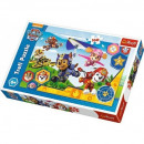 160 pieces puzzle Paw Patrol, Ready to help