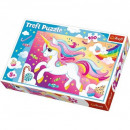 Puzzle Unicorn Puzzle 100 pieces - Beautiful them