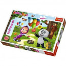 Puzzle 100 pieces - Masha and the Bear, Friend
