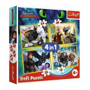 4in1 Puzzle How to Train Your Dragon
