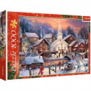 Puzzle 1000 pieces White Christmas