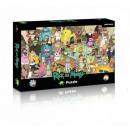 groothandel Speelgoed: Puzzel 1000 stukjes Rick and Morty