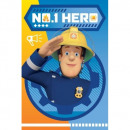 Fireman Sam Fireman Sam Hero blancket fleece