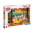 Puzzle 180 pieces Super Color - Disney Classic