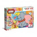 Puzzle de suelo 40 piezas Super Color Dumbo
