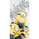 Minions Minions 2 Gray Beach Towel