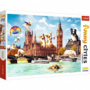 Puzzle 1000 pieces Dogs in London