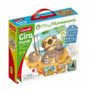 Montessori animal puzzle