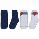 Superman MEN'S SUP SOCKS 53 34 242 SINGLE