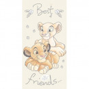 Lion King roi Lion Best Friends serviette de plage