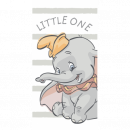Dumbo Dumbo Stripe Little One Beach Towel