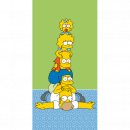 The Simpsons The Simpsons Family Tower beach towel