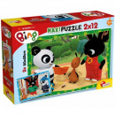 Puzzle maxi 2 x 12 Bing pieces