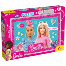 Puzzle Barbie Puzzle Barbie glitter 108 elements