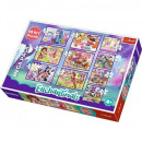 Puzzle 10 en 1 Enchantimals - Aventure