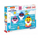Puzzle of 24 elements Maxi Super color Baby Shark
