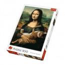 Puzzle Cat Puzzle 500 pieces Mona Lisa and cat Mr