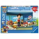 Großhandel Bilder & Rahmen: Puzzle 2x24 Teile - Paw Patrol, hilfreicher Atem