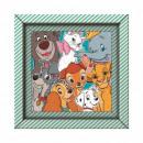 Puzzle aus 60 Elementen Frame Me Up - Disney Tiere