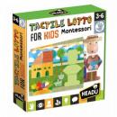 HEADU Montessori Lotto puzzle sensory shapes