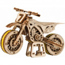 wholesale Motorcycle & Scooter: 3D puzzle MotoCross cross bike