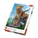 500 pieces puzzle - Wild leopard