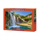 Puzzle 1000 pieces - Land of Falling Lakes