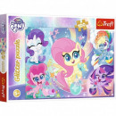 wholesale Licensed Products: Puzzle My Little Pony Puzzle of 100 Glitter pieces