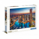 Puzzle 1500 főhadiszállás Dubai jachtkikötő