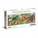 Puzzle 1000 pieces Panorama HQ Wild nature