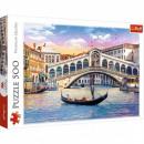 Puzzle 500 pieces Rialto Bridge Venice